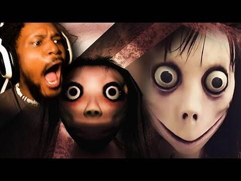 MOMO YOU WERE NOT INVITED TO MY HOUSE | Momo (Creepypasta Monster)