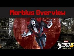 Marvel Ultimate Alliance 3 - Morbius gameplay