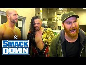 Sami Zayn and his stable livid with Braun Strowman: SmackDown Exclusive, Jan. 10, 2020