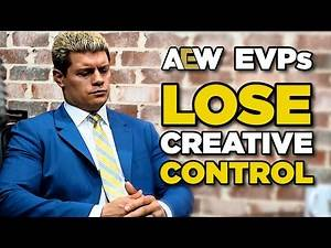 AEW Creative Control TAKEN AWAY From Cody Rhodes & More!
