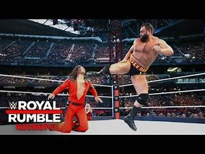 Rusev batters Shinsuke Nakamura in U.S. Title Match: Royal Rumble 2019 Kickoff