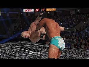 WWE 2K18 - Jinder Mahal vs Brock Lesnar | Epic Hell in a cell Gameplay