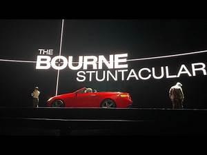 NEW! The Bourne Stuntacular QUEUE & PRESHOW, Universal Studios Florida