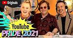 David and Elton Talk To JoJo Siwa About Relationships   YouTube Pride 2021