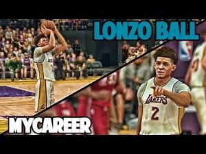 GREATEST PERFORMANCE IN NBA HISTORY - NBA 2K17 LONZO BALL MyCareer