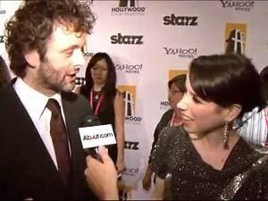Michael Sheen and Sally Hawkins at Hollywood Film Festival