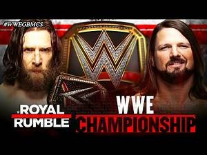 WWE Royal Rumble 2019 - Official And Full Match Card HD (Vintage)