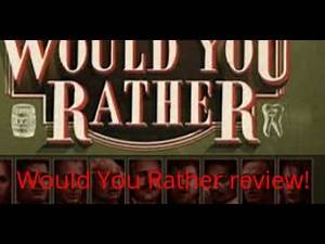 Would You Rather review!