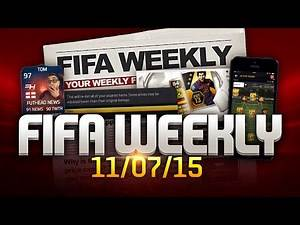 FIFA Weekly 11/07/15 - 1 or 2 FIFA 16 covers, Great Dane, The best day of Jordan Henderson's life
