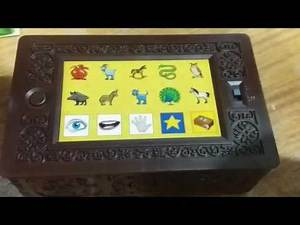 Trying the Whoowasit treasure box