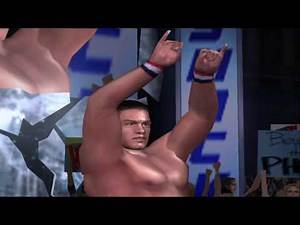 WWE Smackdown! Here Comes the Pain Season Mode Playthrough [John Cena] - Part 1 (SD! Difficulty)