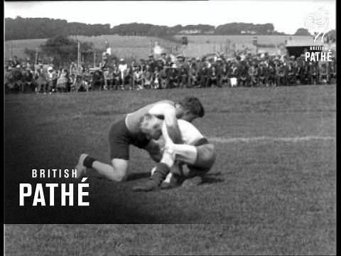 Cornish Wrestling Centenary (1926)
