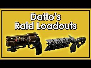Destiny Rise of Iron: Datto's Favorite Weapon Loadouts for All 390 Raids