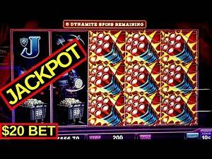 High Limit - Eureka LOCK IT LINK Slot Machine ✪HANDPAY JACKPOTS✪  Sons Of Anarchy Slot Machine Bonus