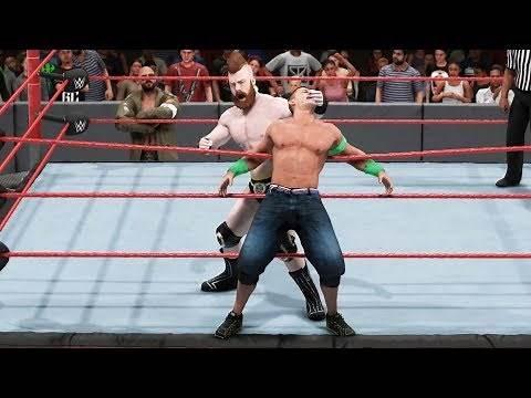 WWE 2K19 - Sheamus vs John Cena - Gameplay (PC HD) [1080p60FPS]