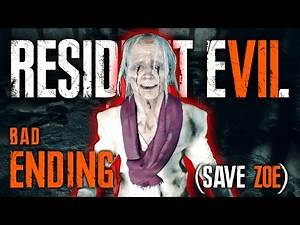 Resident Evil 7 — Ending (Save Zoe) | BAD ENDING | RE7 Gameplay Walkthrough Playthrough PS4