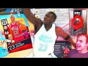 NBA 2K17 My Team RUBY MICHAEL JORDAN! ROOKIE REWIND COLLECTION REWARD!