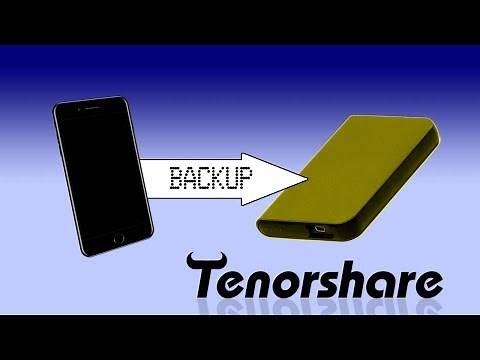 How to Backup iPhone/iPad/iPod Data to External Hard Drive 2019? No iTunes Needed.