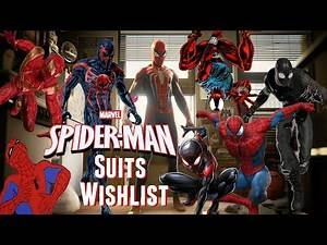 Spider-Man PS4 Suits/Costumes Wishlist!