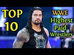 Top 10 WWE Salaries 2018 / 2019 | Highest Paid Wrestlers / Superstars (Latest Released)