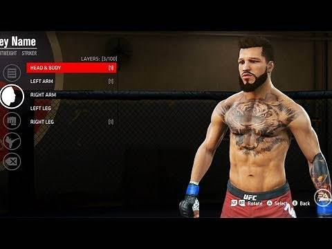 UFC Career Mode - CREATING THE ULTIMATE FIGHTER - Part 1