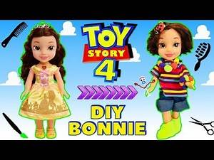 MAKING BONNIE from TOY STORY 4 (DIY Bonnie Doll) w/ Bonnie's Room Surprise Toys