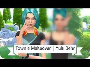 Sims 4 Townie Makeover | Yuki Behr