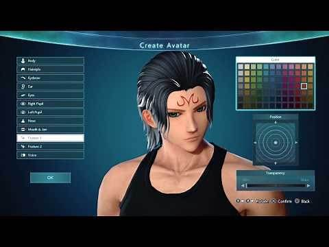 JUMP FORCE - Full Character Creation (All Options) PS4 Pro