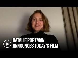 Natalie Portman announces DIRTY DANCING for AFI Movie Club