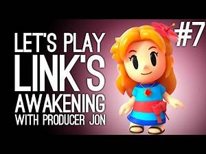 Link's Awakening Switch Gameplay: Link's Awakening with Producer Jon Pt 7 - WALRUS SINGING