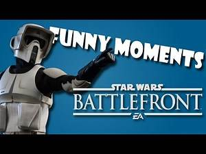 Star Wars Battlefront Funny Moments #1: The Emperor's New Groove