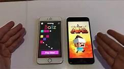 iPhone 6 plus vs 6s plus (ios 11.2.1)