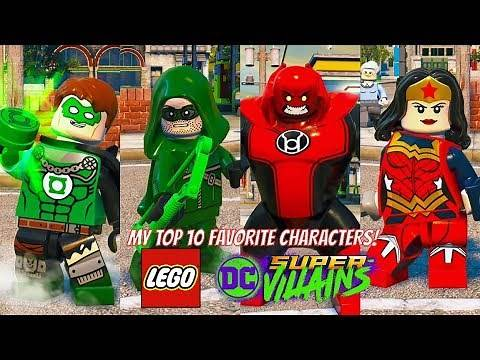 LEGO DC Super Villains My Top 10 Favorite Characters (With ALL Season Pass DLC)