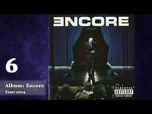 Top 10 Eminem Albums [=BestList=]