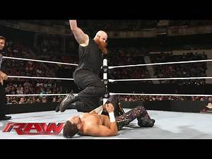 Fandango & Zack Ryder vs. Luke Harper & Erick Rowan: Raw, May 18, 2015
