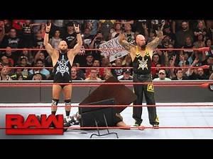 The Dudley Boyz say goodbye: Raw, Aug. 22, 2016