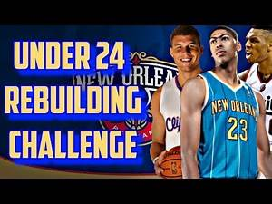 THE UNDER 24 REBUILDING CHALLENGE!!! CAN ONLY BUILD THROUGH THE DRAFT!! - NBA 2K17