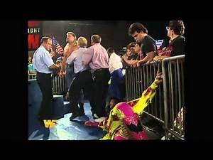 Yokozuna (Heavyweight Champion) helps Crush after Interview HD - Oct. 1993