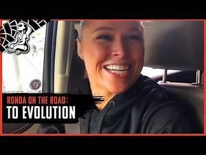 Ronda on the Road   WWE Evolution