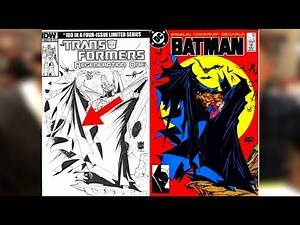 Sketch Covers With Casey Coller | Todd Mcfarlane Batman Homage