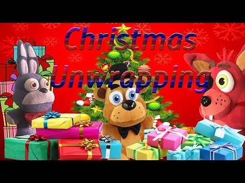 Fnaf Plush-Christmas Unwrapping (GW Movie) 13