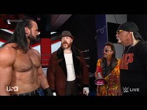 WWE RAW 1/4/21 Drew McIntyre, Sheamus, Jimmy Hart & Hulk Hogan Backstage Segment (Full)