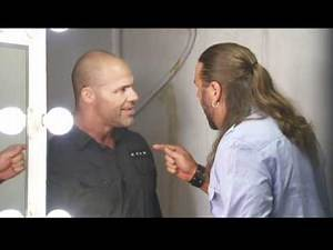 "Kurt Angle Has a ""Heart-To-Heart"" with James Storm"