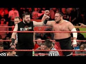 "WWE Mashup: Samoa Joe & Kevin Owens, ""Fight, Joe! Joe! Joe!"""