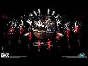 WWE Survivor Series 2007 Opening Pyro Animation