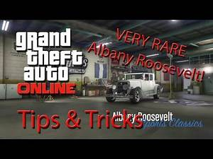 How to Spawn VERY Rare Albany Roosevelt on GTA 5 Story Mode (Tips & Tricks)