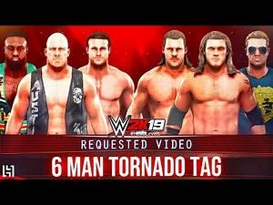 WWE 2K19 6 Man Tornado Tag Match - Stone Cold Big E Dolph Ziggler vs Edge Chris Jericho Tyler Breeze