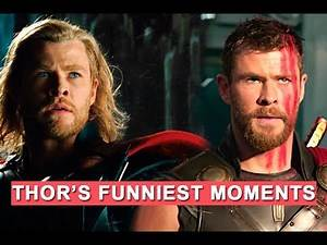 Thor's funniest moments - Chris Hemsworth LOLs from Daryl to Ragnarok