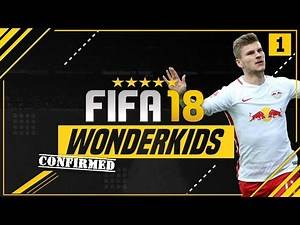 CONFIRMED FIFA 18 CAREER MODE WONDERKIDS?! | ft. Werner, Onyekuru & Gabriel Jesus [#1]