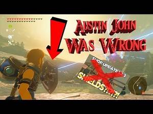 BOTW Austin John was wrong about the shop update 1.3.3 (Hylian Shield) - Game Cave